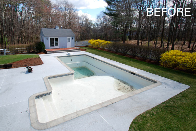 3D Pool Design - Before