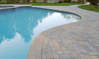 Pavers - Cantilever Coping