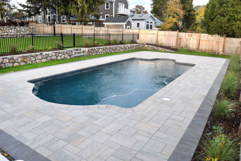 Puraqua pool service swimming pool photo gallery for How much to build a house in ma