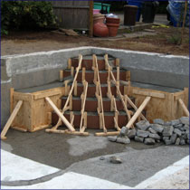 Gunite Pool Step Repair