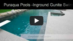 Puraqua Pools - Inground Gunite Pool Construction Video
